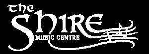 Shire Logo White